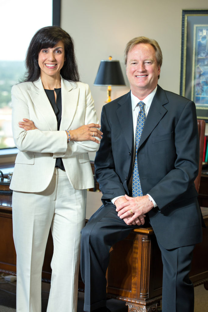 Terrence Turzinski and Jill Pollack